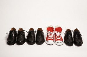 shoes and differentiation